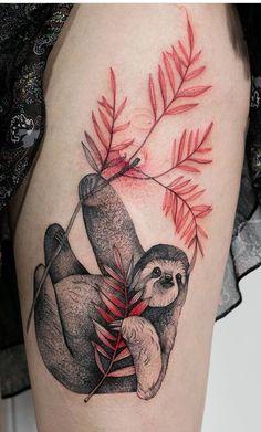 Piercing Tattoo, Piercings, Body Art Tattoos, Small Tattoos, Tattoo Ideas Tumblr, Art Designs, Tattoo Designs, Sloth Tattoo, Tiffany Glass