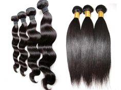 Body wave et Straight Brésilien Human hair