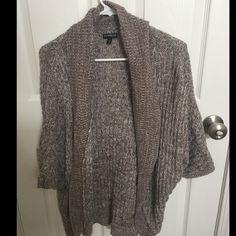 Express shrug like new Beige shrug from Express Express Sweaters Shrugs & Ponchos