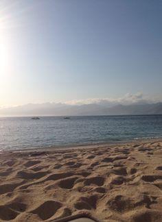 Sea, sand and sky..