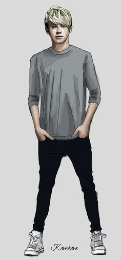 Beautiful drawning of Niall