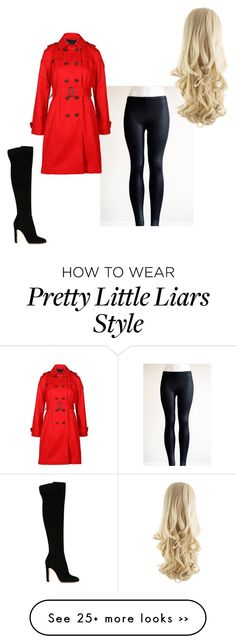"""""""Pretty Little Liars; Red Coat"""" by beth123456 on Polyvore featuring Gianvito Rossi and Joules"""