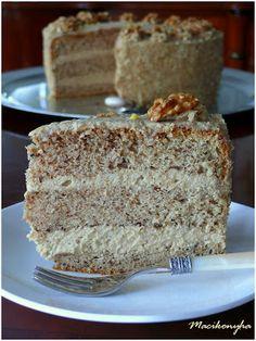 Sweet And Salty, Vanilla Cake, Fudge, Bakery, Birthday Cake, Sweets, Martha Stewart, Cake Receipe, Pastries Recipes