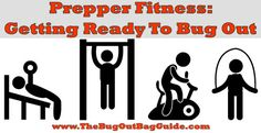 Are you fit to #bugout? Get an early start on your New Year resolutions with this prepper fitness guide! #prepperfitness #survival
