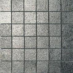 #Settecento #Musiva Platino 4,5x4,5 on grid 28,6x28,6 cm 100705 | #Glas on ceramic | on #bathroom39.com at 368 Euro/sqm | #mosaic #bathroom #kitchen