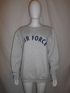Vintage Sweatshirt USAF United States Air by ATELIERVINTAGESHOP