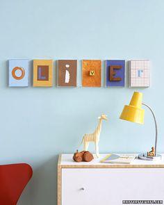 baby wall art!