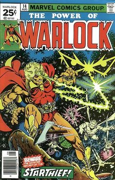 Favourite Comicbook Character: Warlock (nominee)