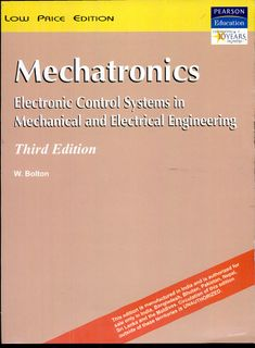 Read Online Mechatronics: Electronic Control Systems in Mechanical and Electrical Engineering, PDF Mechatronics Engineering, Mechanical Engineering, Electrical Engineering, Data Science, Control System, Reading Online, This Book, Pdf, Coding