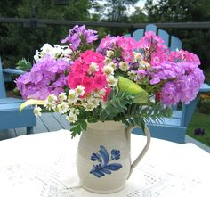 Volcano phlox - mixed varieties make a lovely and fragrant bouquet