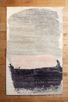 Anthropologie Painted Palette Rug