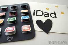 DIY printable card for a tech dad