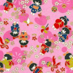 Papier Japonais - Adeline Klam Adeline Klam, Paper Wallpaper, Japanese Paper, Pattern Paper, Decoration, Surface Design, Cherry Blossom, Paper Art, Kids Rugs