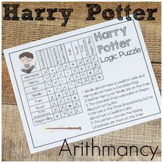 Harry Potter math for summer fun or regular funschooling - it doesn& matter. Play games and learn while loving Harry Potter! Harry Potter School, Harry Potter Classroom, Theme Harry Potter, Harry Potter Birthday, Harry Potter Books, Harry Potter Cosplay, Harry Potter Halloween, Fun Math, Math Games