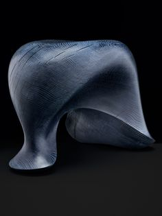 Dutch designer Aldo Bakker has created the Tonus Stool handmade out of a solid block of oak wood.