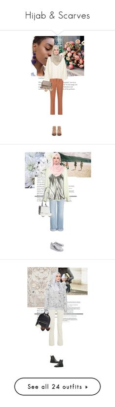 """""""Hijab & Scarves"""" by the2ndchild ❤ liked on Polyvore featuring Marni, Topshop, Chloé, Christian Dior, H by Hudson, accessories, scarves, chiffon shawl, chiffon scarves and cotton scarves"""