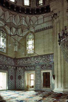 Selimiye mosque in Edirne, Turkey