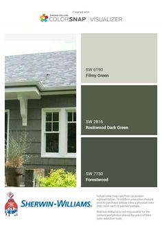 34 Ideas exterior paint colora for house green olive white trim