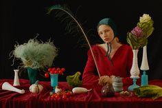 Cabbage renaissance on Behance Creative Portraits, Creative Photography, Art Photography, Photo Reference, Art Reference, Tamara Lempicka, Photoshoot Concept, Good Night Sweet Dreams, Fashion Photography Inspiration