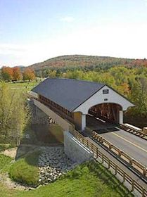 Smith Millennium Bridge #44 | New Hampshire Covered Bridges...Plymouth, nice little spot for a swim