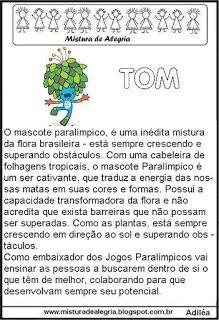 Jogos olímpicos 2016, mascote Tom                                                                                                                                                     Mais