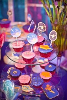 Arabian cupcakes from an Arabian Nights Birthday Party on Kara's Party Ideas   KarasPartyIdeas.com (7)