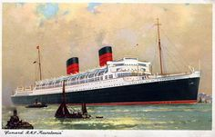 RMS Mauretania (1938)  Laid down: 24 May 1937  Launched: 28 July 1938  Christened: 28 July 1938  Maiden voyage: 17 June 1939  Fate: Broken up at Ward's shipbreaking yard in Inverkeithing, Scotland