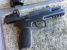 11 More Awesome New Guns, Gear, and Ammo Products from SHOT 2016, A new Sig Sauer P320 RX with Romeo 1 optical sight.