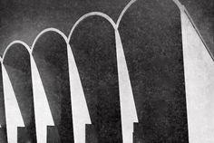 Detalle de la fachada, Iglesia para Hansenianos en Zoquiapan, Hospital 'Dr Pedro Lopez' Zoquiapan, Ixtapaluca, Estado de Mexico, Mexico 1954 Arq. Israel Katzman - Detail of the facade, Hanseniasis Church, 'Dr Pedro Lopez' Hospital, Zoquiapan, Ixtapaluca, State of Mexico, Mexico 1954