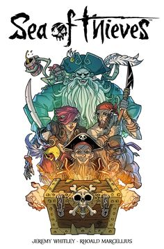 Sea of Thieves comic book #seaofthieves #xbox #xboxone #windows10 #videogames #videogame #gaming