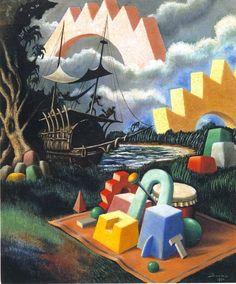 Alberto Savinio_Senza Titolo_1930