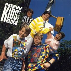 New Kids On The Block. --I was soo going to marry Joey ;) Wow I did not remember them looking so young. Maybe because I was also a kid haha