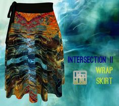 Tie Colors, Print Wrap, Body Types, Artwork Prints, Tie Dye Skirt, Bag Accessories, Clothes For Women, Skirts, Fabric