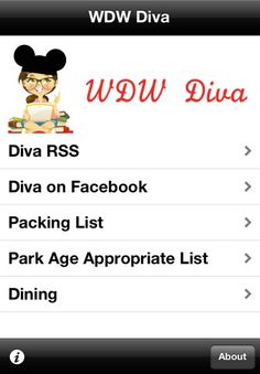 Do you have the WDW Diva iPhone App? Its FREE and you'll love it! Be sure to repin!