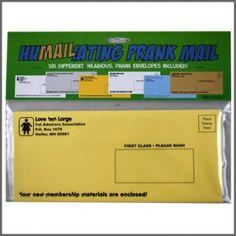 Humailiating Prank Mail (6 pack)