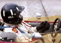 Graham Hill, Lotus 49 at Monaco. He won for Lotus in 1968 and Le Mans, Formula 1 Gp, Aryton Senna, Lotus Car, Graham, Gilles Villeneuve, Racing Helmets, Monaco Grand Prix, Old Race Cars