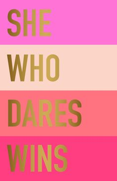 She who dares wins Art Print by Maria Kritzas | Society6