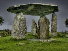 'Pentre Ifan Pembrokeshire, Wales' by Bob Culshaw Ancient Mysteries, Ancient Ruins, Ancient Artifacts, Ancient History, Monuments, Pembrokeshire Wales, Cairns, Celtic Culture, Cymru