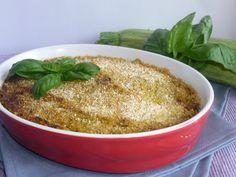 sformato delicato zucchine e ricotta