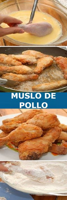 Pollo Chicken, Bbq Chicken, Guisado, Chicken Recepies, Tasty, Yummy Food, Cooking Recipes, Healthy Recipes, Some Recipe