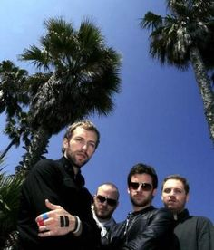 Coldplay X & Y palm trees