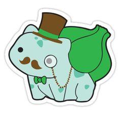 Bulbasaur Gentlemon by bobbybridges