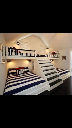 Great bedroom for multiples or sleepovers!