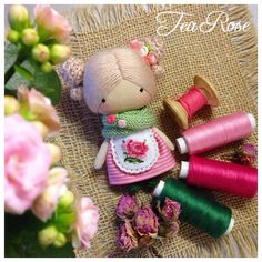 Tiny cute fabric doll                                                                                                                                                     More