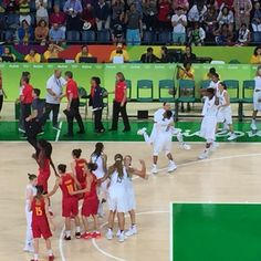 08.20.16 Sixth Olympic gold medal in a row for USA basketball, 101-72, over Spain. Incredible domination. #Rio2016