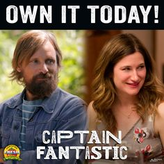 Fantastic Dads and #BadMoms! See fan-favorites #ViggoMortensen and #KathrynHahn in #CaptainFantastic, on sale to own for $9.99 via @iTunes!  http://bleecker.me/capfan_itunes