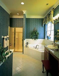 Teal bathrooms teal and bathroom on pinterest for Teal and white bathroom ideas