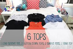 6 tops