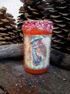 Rita's Valentine Luv 2 day Ritual Candle  by RitaSpiritualGoods