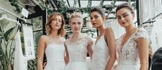 Fall 2019 Bridal Fashion Week is finally open. Many famous designers showcased their bridal collection. We want to show the best wedding dresses fall Lazaro Wedding Dress, Wedding Dress Necklines, Wedding Dress Trends, Fall Wedding Dresses, Wedding Dress Styles, Bridal Dresses, Wedding Gowns, Bridesmaid Dresses, Wedding Photos